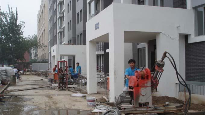 中铁六局某住宅楼纠偏加固工程